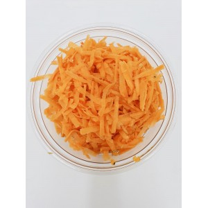Grated carrots 200g