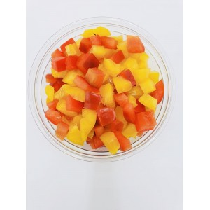 Diced peppers 200g