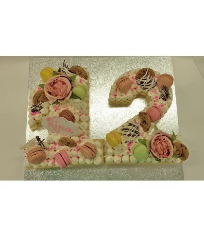 Number and Letter Cakes