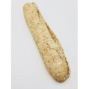 Whole meal French baguette (part baked).