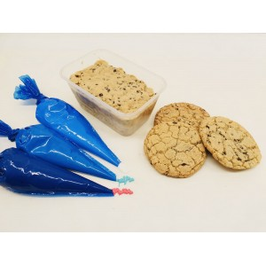 Make your own cookies- cookie dough kit.