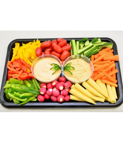 Crudite Platter with Dips