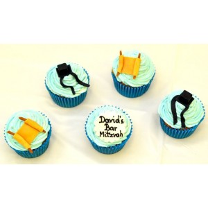 Barmitzva assorted cupcakes