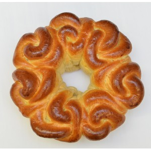 Rose shaped Pull & Dip Challa 1lb