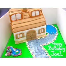 Dream House Cake