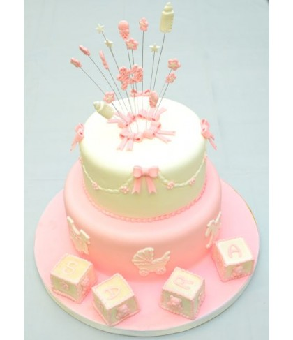 'Its a girl! '/ 'Its  a boy' cake