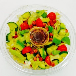 Avocado and roast chickpea salad bowl 1.5lt